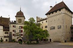 Lenzburg castle, Switzerland Stock Photo