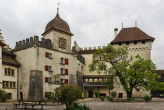 Lenzburg castle, Switzerland Stock Photography