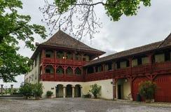 Lenzburg castle, Switzerland Royalty Free Stock Images
