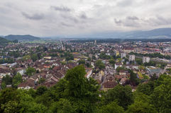 Lenzburg grounds, Switzerland Royalty Free Stock Photos