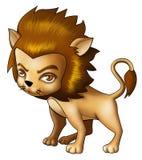Leo. Illustration of Leo in cartoon style Stock Photos