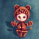 Leo astrologiczna szyldowa chłopiec Zdjęcia Stock