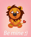 Leo be mine Royalty Free Stock Photography