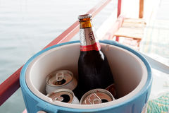 Leo Beer immagini stock
