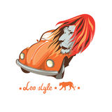 Leo bugs driver Royalty Free Stock Image