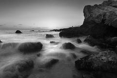 Leo Carrillo in Mono Lizenzfreies Stockbild