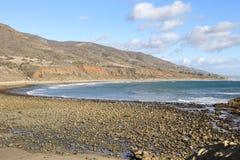 Leo Carrillo State Beach, Malibu California. Peaceful afternoon at Leo Carrillo State Beach, Malibu California Stock Image