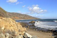Leo Carrillo State Beach, Malibu California Royalty Free Stock Photography