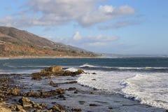 Leo Carrillo State Beach, Malibu California Stock Photography