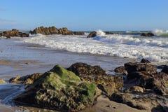 Leo Carrillo State Beach, Malibu California Stock Images