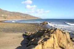 Leo Carrillo State Beach, Malibu California Royalty Free Stock Photos