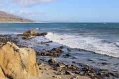 Leo Carrillo State Beach, Malibu Kalifornien Lizenzfreie Stockfotografie