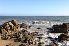Leo Carrillo State Beach, Malibu Kalifornien Stockbild