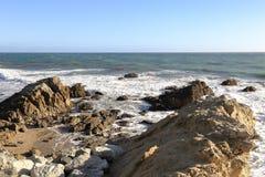 Leo Carrillo State Beach, Malibu la Californie Photographie stock libre de droits