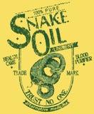 Óleo de serpente Imagem de Stock
