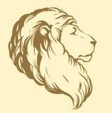 Leão Desenho do vetor Fotos de Stock Royalty Free