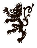 Leão heráldico Fotografia de Stock Royalty Free