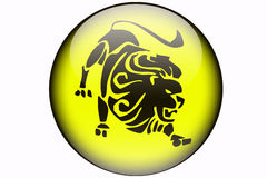 Leo horoscope Royalty Free Stock Photos