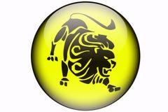 Leo horoskop Zdjęcia Royalty Free