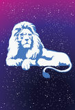 Leo - The King of the Zodiac Stock Images