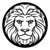 Leo Lion Zodiac Sign Fotografía de archivo