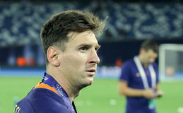 Leo Messi Image libre de droits
