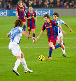 Leo Messi in action Stock Photos