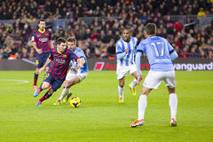 Leo Messi in action Stock Photography