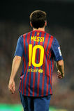 Leo Messi back Royalty Free Stock Photos