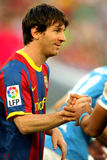 Leo Messi of Barcelona Royalty Free Stock Photos