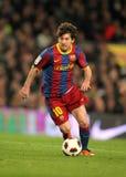 Leo Messi de Barcelona Imagem de Stock