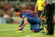 Leo Messi de FC Barcelona Fotos de Stock