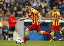 Leo Messi de FC Barcelona Imagem de Stock
