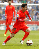 Leo Messi de FC Barcelona Imagens de Stock