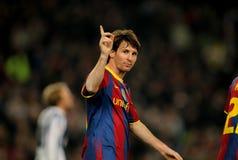 Leo Messi di Barcellona Fotografie Stock Libere da Diritti