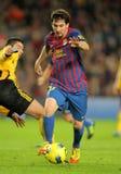 Leo Messi di FC Barcellona Fotografie Stock