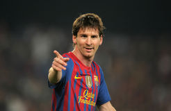 Leo Messi di FC Barcellona Fotografia Stock Libera da Diritti