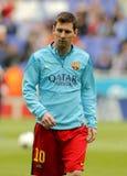 Leo Messi di FC Barcellona Fotografia Stock