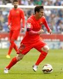Leo Messi di FC Barcellona Immagini Stock