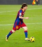 Leo Messi (FC Barcellona) Immagini Stock
