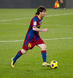 Leo Messi (FC Barcelona) Royalty Free Stock Photo