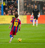Leo Messi (FC Barcelona) Royalty Free Stock Photos