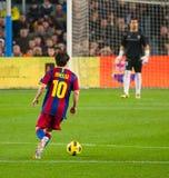 Leo Messi (FC Barcelona) royalty free stock photos