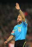 Referee Mateu Lahoz Royalty Free Stock Image