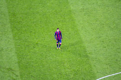 Leo Messi of FC Barcelona in action Stock Photo