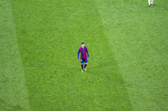 Leo Messi of FC Barcelona in action Royalty Free Stock Photo