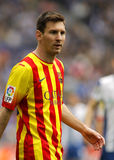Leo Messi of FC Barcelona Royalty Free Stock Photo