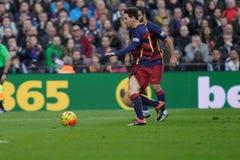 Leo Messi of FC Barcelona Royalty Free Stock Photo