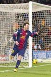 Leo Messi goal celebration Royalty Free Stock Photography