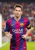 Leo Messi. Lionel Messi of FCB in action at Spanish League match between FC Barcelona and Celta de Vigo, final score 0-1, on November 1, 2014, in Camp Nou Royalty Free Stock Images